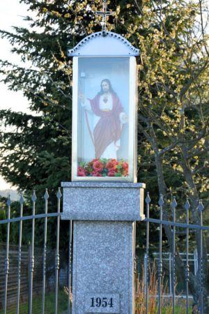 Kapliczka Ul. Piastowska Obok P. B. Zbliżenie