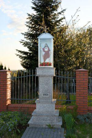 Kapliczka Ul. Piastowska Obok P. B