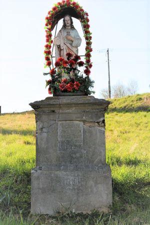 Kapliczka Ul. Tarnowska Naprzeciw Firmy Madeja