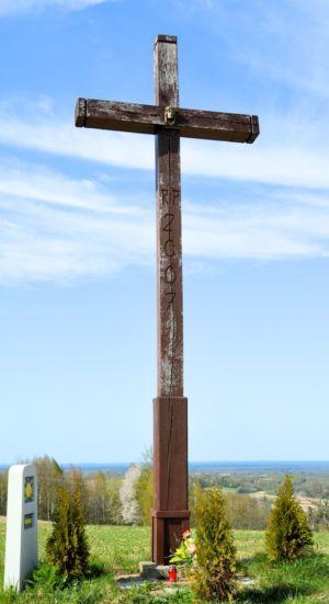 Krzyż Na Ul. Granicznej Skrzyżowanie Ze Skrętem Na Zwiernik