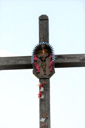 Krzyż Na Ul. K. Wielkiego Po Przeciwnej Stronie P. O. Zblizenie