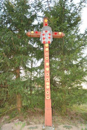 Krzyż Przy Ul. K. Wielkiego Granica Od Ryglic