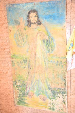 Wnętrze Kapliczki Obok P. M. 3