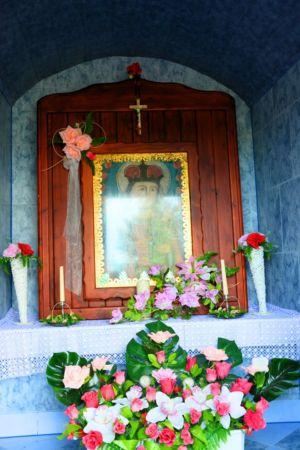 Wnętrze Kapliczki Obok P. Sz. 2