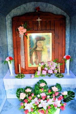 Wnętrze Kapliczki Obok P. Sz