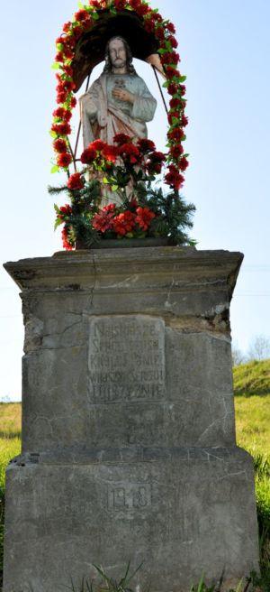 Zbliżenie Kapliczki Ul. Tarnowska Na Przeciw Firmy Madeja