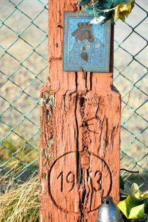 Zbliżenie Krzyża Na Ul. Tarnowskiej Wjazd Do Zalasowskiego Wzgórza